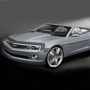 GM (General Motors) - 22844283 - Nose and Spear Stripe Package - 2012-13 Camaro SS Model, Cyber Gray