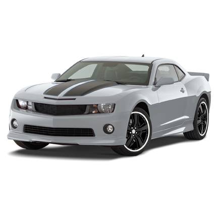 GM (General Motors) - 22745047 - Ground Effects Package - 2011-13 Camaro Ss Model Without Performance Exhaust (Npp) - Not For Use On Zl1 Models, Silver Ice (Gan)