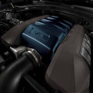 GM (General Motors) - 12654766 - Engine Cover, 2013-14 Camaro V8 (LS3 and L99), Blue Ray (GXH)