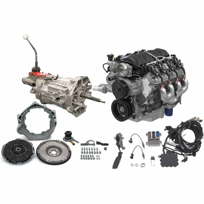 PACE Performance - GMP-LS3525T56 - Pace Prepped & Primed LS3 525HP with T56 Tremec 6 Speed Transmission Package