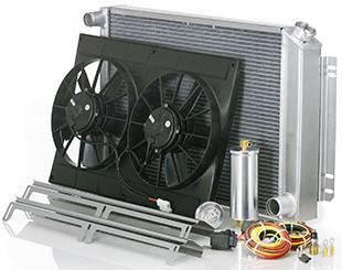"Be Cool Radiator - BCI82018 - 1978-1987 ""Most GM ""G"" Body ( Malibu, Monte Carlo, Regal, Cutlas, Grand Prix Etc.), 80-86 Caprice w/Auto. Trans. Mod. Assembly (Includes Transmission Fittings - 2-Part #72001)"""