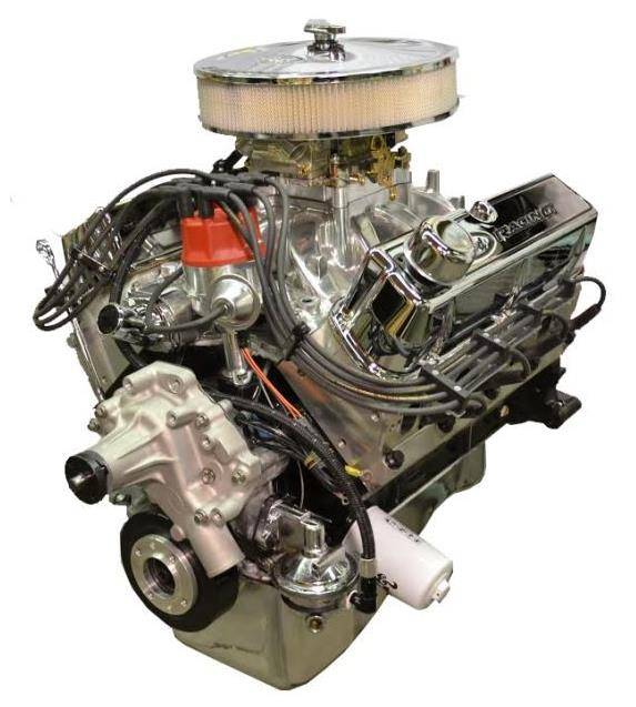 PACE Performance - BPF4084CT-P1X - Pace Prepped & Primed SBF 408/425HP with Chrome Trim Crate Engine