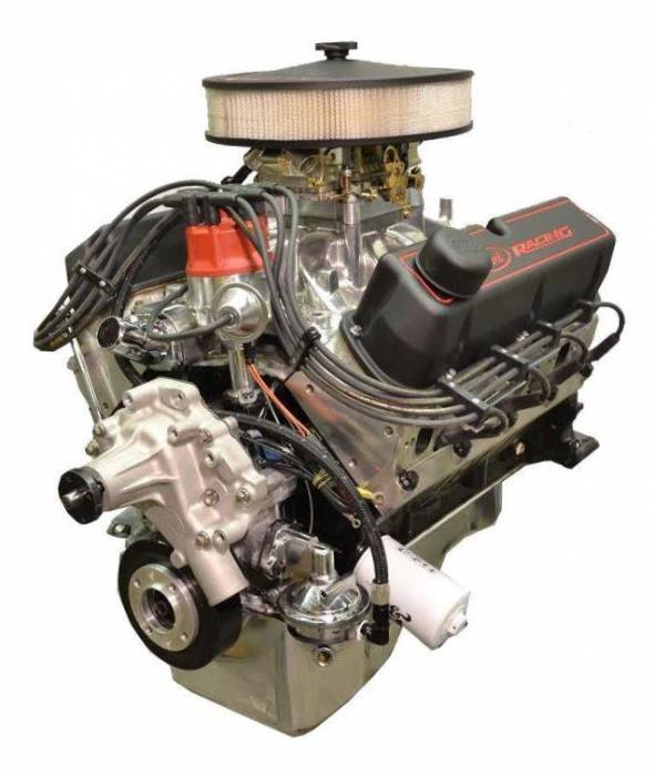 PACE Performance - BPF4084CT-P2X - Pace Prepped & Primed SBF 408/425HP with Black Trim Crate Engine