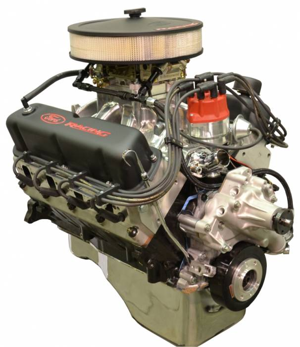 PACE Performance - BPF4084CT-P2SX - Pace prepped & Primed SBF 408/425HP with Black Trim Crate Engine