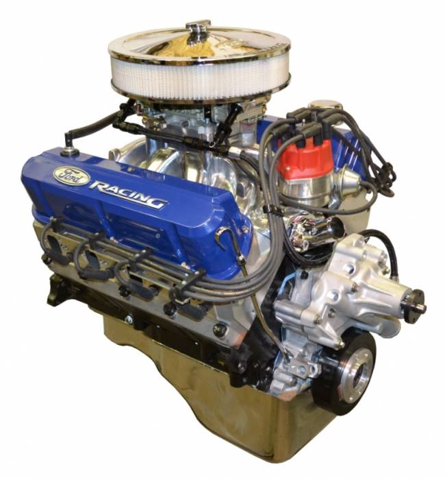 PACE Performance - BPF4084CT-P7X - Pace Prepped & Primed SBF 408/425HP with Blue Trim Crate Engine