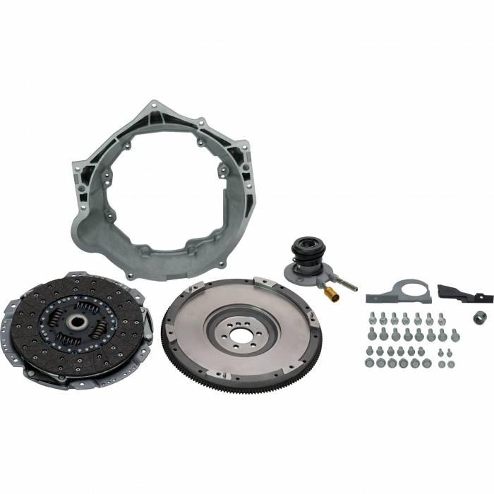 Chevrolet Performance Parts - 19301625 - Chevrolet Performance LS 6-Bolt Crank Tremec T56 Transmission Installation Kit