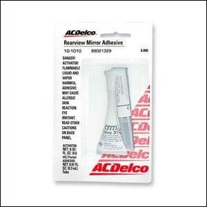 GM (General Motors) - 89021329 - Gm/Ac Delco Inside Mirror Adhesive - .9 Oz.