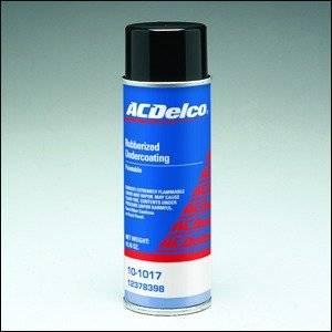 GM (General Motors) - 12378398 - GM/AC Delco Rubberized Aerosol Undercoating - 19.76 oz.