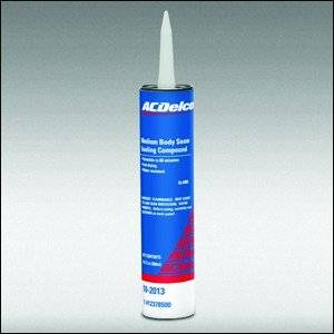 GM (General Motors) - 12378500 - Gm/Ac Delco Medium Bodied Seam Sealing Compound - 11 Oz. Caulking Tube
