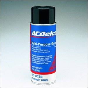 GM (General Motors) - 89021668 - GM/AC Delco Multi-Purpose Grease - 11 Oz. Aerosol