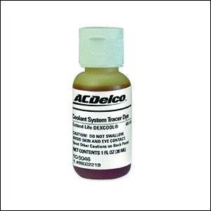 GM (General Motors) - 89022219 - GM/AC Delco Coolant System Tracer Dye - 1 oz.