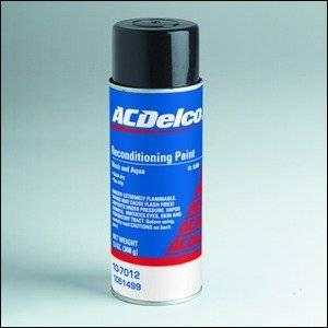 GM (General Motors) - 1051499 - GM/AC Delco Trunk Reconditioning (Splatter) Paint 13 Oz. Aerosol - Black / Aqua Color