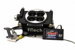 FiTech Fuel Injection - FTH-31002 - 600HP Carb Swap EFI Master Package with In-Line Fuel Pump, Black Matte Finish - Image 2