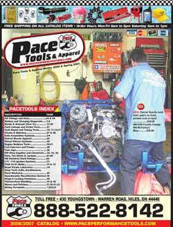 Pace Performance Tools Catalog