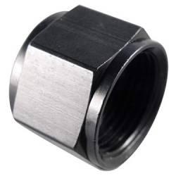 -4 Bulkhead Nut Fragola 492404-BL Black Size