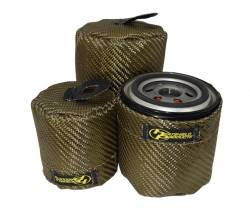 Heatshield Products - Oil Filter Heat Shield, Early Ford V8 PH8A/PH5 or equivalent Heatshield Products 504702 - Image 1