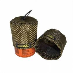 Heatshield Products - HSP504704 - Heatshield Lava Oil Filter Heat Shield, Fits 5.0 Coyote PH10575 or equivalent - Image 2