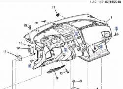 GM (General Motors) - 11547755 - Screw  - Sold Individually. - Image 2