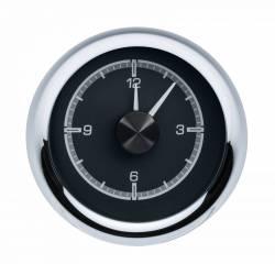 Dakota Digital - DAKHLC-55C-K - 1955-56 Chevy Car HDX Style Clock, Black Face - Image 1