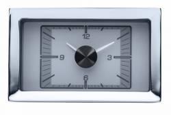 Dakota Digital - DAKHLC-57C-S - 1957 Chevy Car HDX Style Clock, Silver Face - Image 1