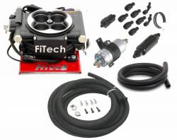 FiTech Fuel Injection - FTH-31002 - 600HP Carb Swap EFI Master Package with In-Line Fuel Pump, Black Matte Finish - Image 1