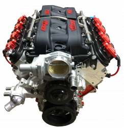 PACE Performance - LSX 454 599HP Pace Exclusive Crate Engine with MSD Atomic Intake GMP-19417357-7AFO - Image 2