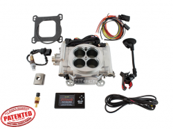 FiTech Fuel Injection - FTH-30001 - FiTech Fuel Injection Go EFI 4 600HP Silver Finish Basic Kit - Image 4