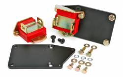 """Trans-Dapt Performance Products - TD4527 - Trans Dapt Engine Swap Mounts for Gen 5 LT Engine into SBC Chassis, 1-1/8"""" Rearwards, Polyurethane Pads - Image 1"""