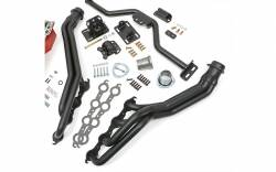 Trans-Dapt Performance Products - LS Engine Swap In A Box Kit for LS Engine in 82-04 S10 with Long Tube Headers Black Maxx Trans-Dapt TD42165 - Image 3