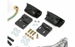 Trans-Dapt Performance Products - Engine Swap In A Box Kit for SB Ford in 83-97 Ford Ranger with HTC Silver Coated Headers Trans-Dapt TD97362 - Image 3