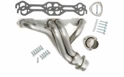 "Hedman Hedders - HD62010 - Hedman Pro Touring, 67-87 C10/C20 Trucks And Suvs With Sb Chevy; 1-5/8"" Tube Dia.; 3"" Coll.; Mid-Length Design- Uncoated 304 Stainless Steel Headers - Image 2"