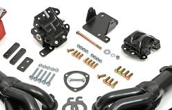 Trans-Dapt Performance Products - LS Engine Swap In A Box Kit for LS in 68-72 GM A-Body TH350 700R4 Mid-Length Uncoated TD46011 - Image 4