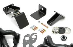 Trans-Dapt Performance Products - Jeep CJ Engine Swap In A Box Kit for 55-78 SB Chevy in 72-86 Jeep CJ with Uncoated Headers Trans Dapt 41001 - Image 3