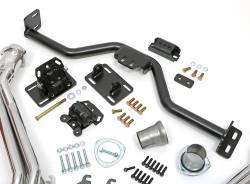 Trans-Dapt Performance Products - LS Engine Swap In A Box Kit for LS Engine in 82-04 S10 with Long Tube Headers HTC Silver Coated Trans-Dapt TD42164 - Image 2
