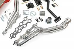 Trans-Dapt Performance Products - LS Engine Swap In A Box Kit for LS Engine in 82-04 S10 with Long Tube Headers HTC Silver Coated Trans-Dapt TD42164 - Image 3