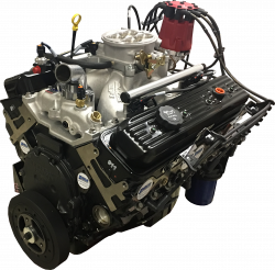 PACE Performance - Small Block Crate Engine by Pace Performance 390hp Roller Cam Edelbrock Pro-Flo4 EFI GMP-12691672-1EX - Image 5