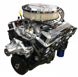 PACE Performance - Small Block Crate Engine by Pace Performance 390hp Roller Cam Edelbrock Pro-Flo4 EFI GMP-12691672-1EX - Image 1