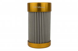 """Hyperfuel Systems - HYP46129 - 100 micron 5.5"""" In line Fuel Filter Replacement Element - Image 2"""