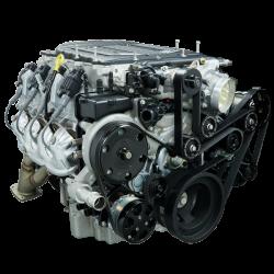 Billet Specialties - BSPBLK13500 - Tru Trac Serpentine System - LT4, Alternator, Power Steering and A/C - Image 1