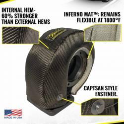 Heatshield Products - Lava Turbo Heat Shield Mid-Frame T4 Flange Turbos Heatshield Products 300075 - Image 2