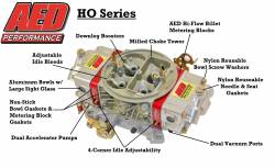 AED Performance - AED AL650HO-BK Aluminum 650 HO Double Pumper Carb w/Black Metering Blocks - Image 2