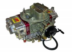 AED Performance - AED AL650HO-EC-RD Aluminum 650 HO Double Pumper w/Red Billet Metering Blocks and Electric Choke - Image 1