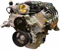 Chevrolet Performance Parts - CPSLS3765256L80E - Chevrolet Performance LS3 525HP Engine with 6L80E 6-Speed Auto Transmission Combo Package - Image 1