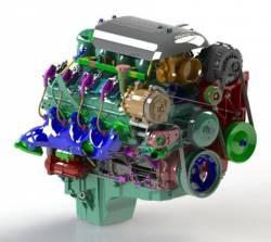 Kwik Performance - K10291 - Truck/2010-15 Camaro LSx Mini-AC Bracket Kit - Image 2