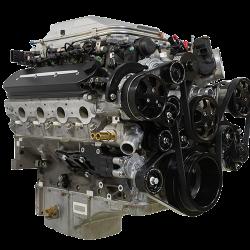Billet Specialties - LSA Tru Trac System with A/C, Power Steering, and Alternator, Black Billet Specialties BLK13410 - Image 3