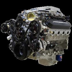 Billet Specialties - LSA Tru Trac System with A/C, Power Steering, and Alternator, Black Billet Specialties BLK13410 - Image 4