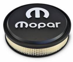 "Proform - Mopar 14"" Air Cleaner Black with Raised Emblem, Slant Edge Proform 440830 - Image 2"