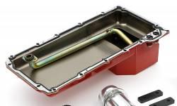Trans-Dapt Performance Products - LS Engine Swap In A Box Kit LS in 68-72 GM A-Body 4L60E Mid-Length  HTC Silver Coated TD46002 - Image 4