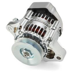 Proform - Mini Alternator 50 AMP 1-Wire Chrome Proform 66431 - Image 1