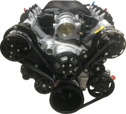 PACE Performance - GMP-19418843-2BHX - LT1 Wet-Sump 6.2L 455 HP Crate Engine by Pace Performance - Image 2